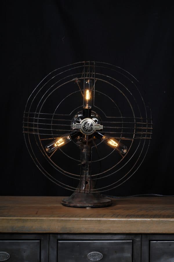 antique fan light industrial