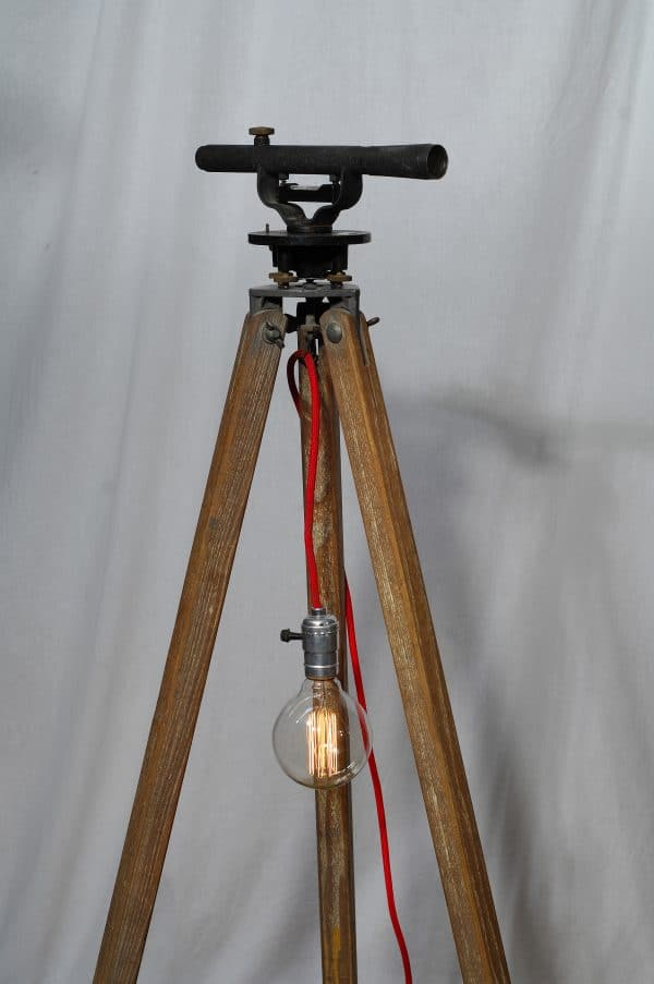 tripod wood lamp