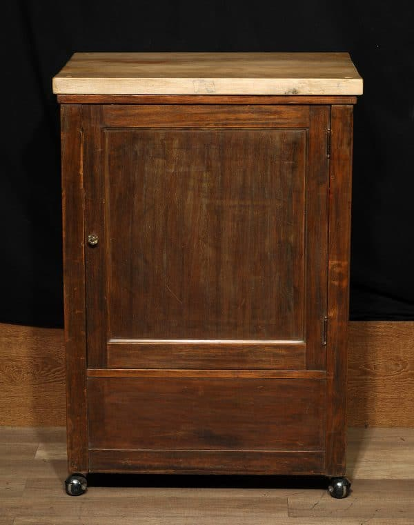 caisse de grand magasin antique en bois