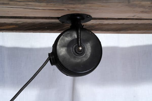 lampe ajustable industriel antique