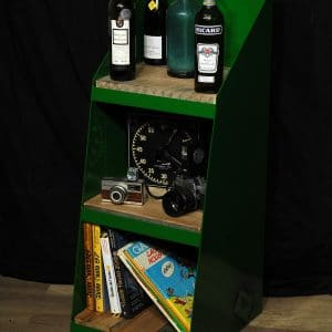 rangement industriel metal et bois brute steel and reclaim wood storage industrial furniture