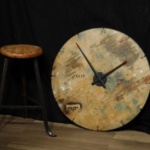 horloge grosse big clock industriel industrial