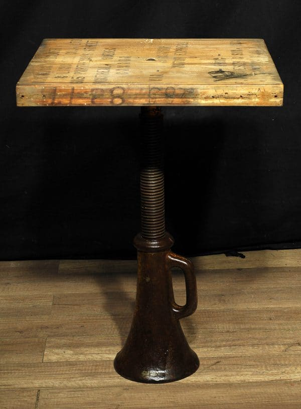 table industriel antique fonte industrial cast iron meuble furniture