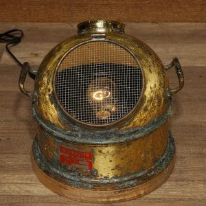 lampe marine antique