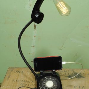 lampe telephone antique port usb lamp