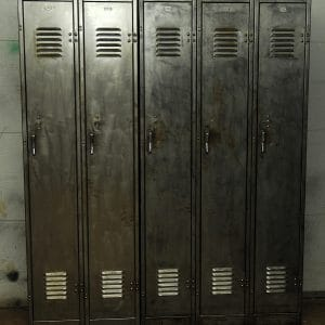 casier vestiaire meuble industriel locker industrial furniture antique