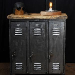 casier locker vestiaire industriel antique