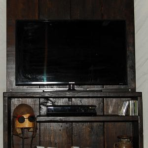 meuble tele tv stand industriel industrial furniture bois metal reclaim wood steel