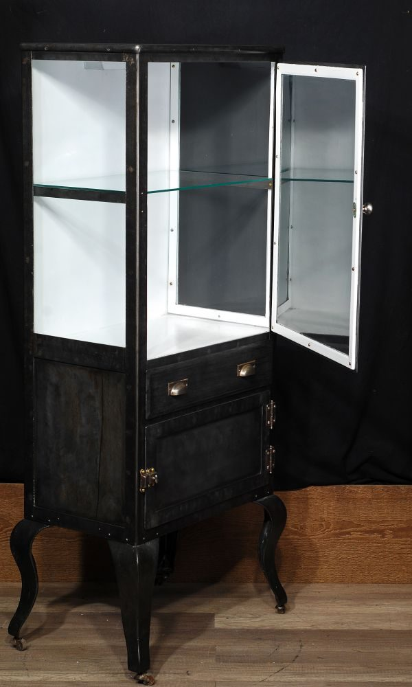 industrial antique cabinet